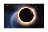 Black Hole - Digital Painting Prints by  anatomyofrockthe