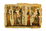 Ancient Egyptian Parchment Art by  Maugli-l