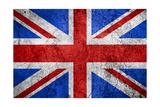 Flag Of United Kingdom Print by Miro Novak