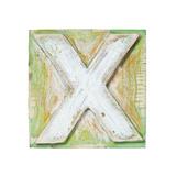 Wooden Alphabet Block, Letter X Reproduction giclée Premium par  donatas1205