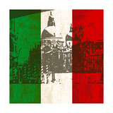 Italian Flag And Venice Posters by  Petrafler
