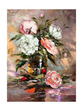 Bunch Of Flowers In A Vase Posters by  balaikin2009