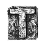 Metal Alloy Alphabet Letter T Prints by  donatas1205
