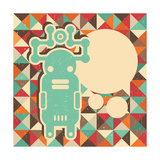 Funny Monster With Space For Text Posters by  panova
