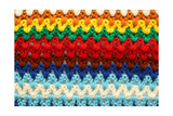 Knitted Multicolored Background Prints by Ivelin Radkov