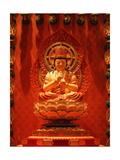 Buddha In Chinese Temple Art by Sira Anamwong