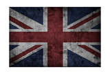 Grunge Uk National Flag Prints by  Spaxia