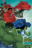 Hulk - Agents of Smash Print