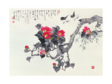 Asian Traditional Painting Lámina giclée prémium por  WizData