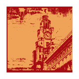Architecturall Grunge Prints by  Petrafler
