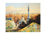 Barcelona, Park Guell Posters by  kirilstanchev