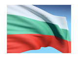 Flag Of Bulgaria Prints by  bioraven
