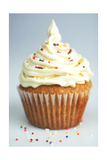 White Cup Cake Posters by pink candy