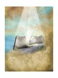 Fantasy Open Book Láminas por  justdd