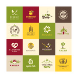 Set Of Icons For Food Posters by  varijanta