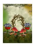 Jardín de fantasía Arte por  justdd
