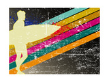 Retro Surfing Poster Prints by  kots