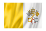 Vatican City Flag Prints by  daboost