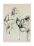 Sketch Of A Man Posters by Boyan Dimitrov