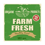 Farm Fresh Poster Prints by  radubalint