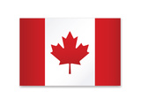 Canada Flag Art by  ekler