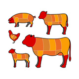 Cutting Meat Art par  skocko