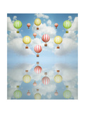 Hot Air Balloon Poster by  ValentinaPhotos