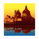Salute Reflection Print by  Petrafler