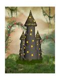 Fantasy Castle Láminas por  justdd