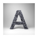 Letter A Prints by  badboo