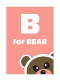 B For The Bear Prints by Elizabeta Lexa