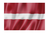 Latvian Flag Posters by  daboost