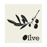 Stylized Olive Branch Affiches par  pavars