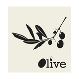 Stylized Olive Branch Prints by  pavars