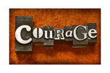 Courage Prints by  Space-Heater