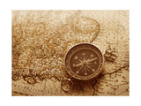 Compass Print by  Olesia_S
