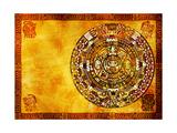 Maya Calendar Poster by  frenta
