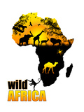 Wild Africa Poster Prints by  radubalint