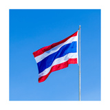 Thailand Flag Art by  akwit
