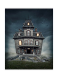 Haunted House Poster by  egal