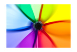 Abstract Color Wheel Prints by  surpasspro
