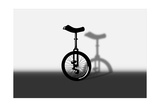 Unicycle Portrait Poster by  exty