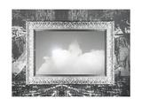 Silver Frame And Sky Prints by  ValentinaPhotos