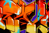 Colorful, Vibrant, Illegal Graffiti Tag In Brighton Prints by  sammyc