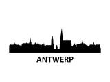 Skyline Antwerp Art by  unkreatives
