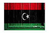 Libya Flag Prints by  budastock