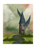 Fantasy Castle Pósters por  justdd