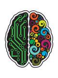 Human Brain Kunstdruck von  LongQuattro