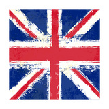Grunge Union Jack Prints by  Petrafler