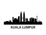 Skyline Kuala Lumpur Prints by  unkreatives